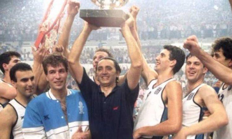 «Έφυγε» ο Κώστας Πολίτης που οδήγησε την Ελλάδα στον θρίαμβο του 1987
